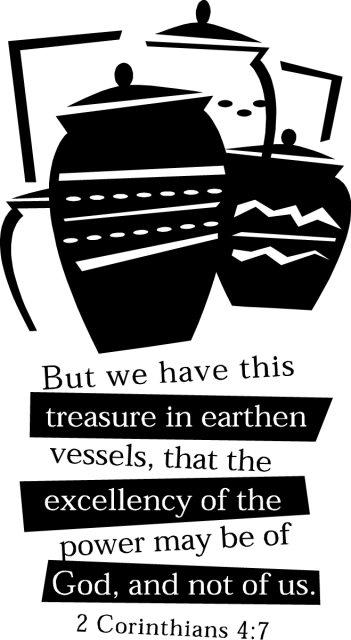 treasures in vessels of clay