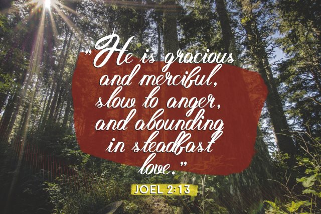 gracious merciful steadfast love