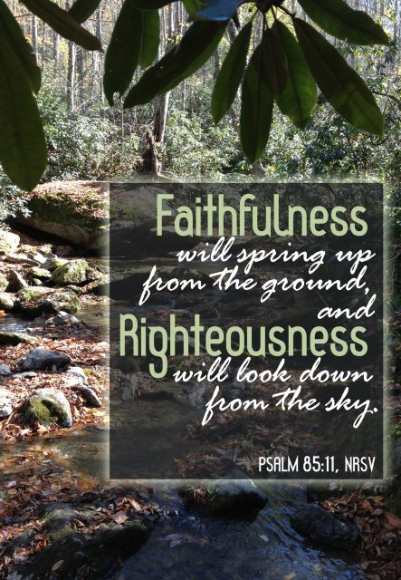 faithfulness righteousness