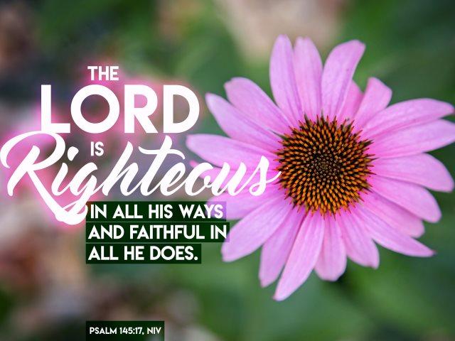 Lord is faithful