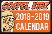 Gospel Kidz 2018-19 Calendar