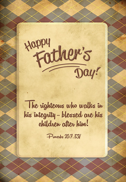 Father's Day - Proverbs