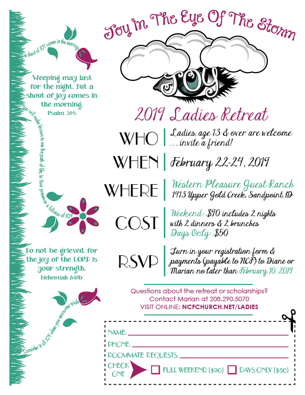ladies retreat registration