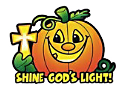 shine God's light pumpkin