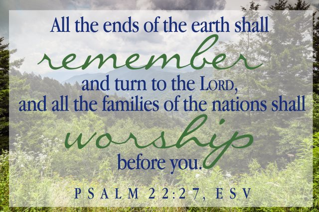 earth remember families worship