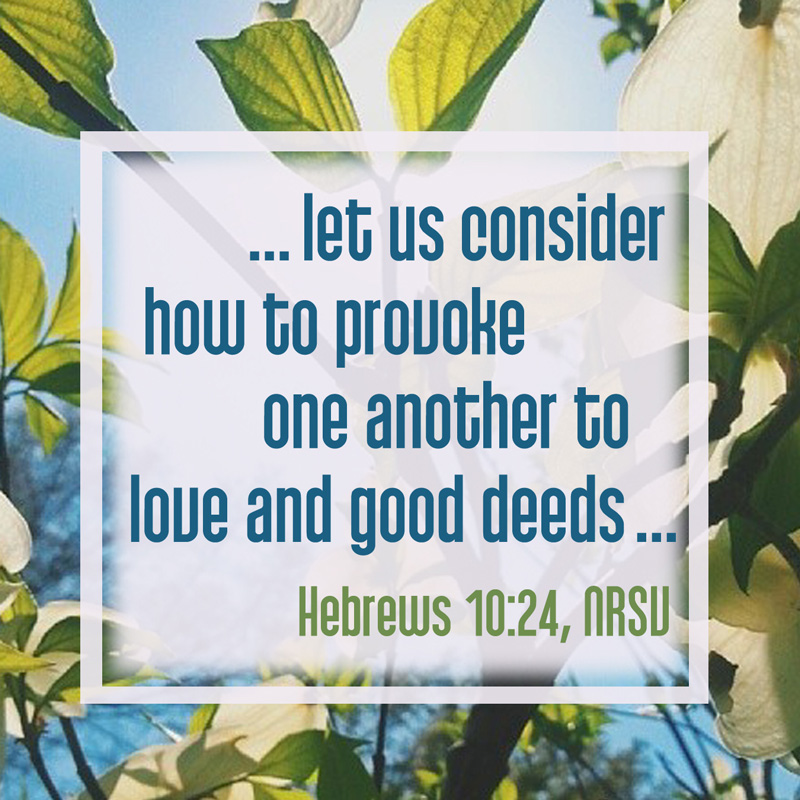 love and good deeds