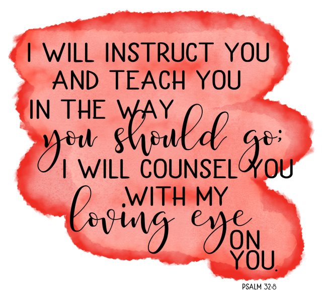 instruct you