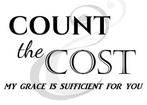 Count The Cost - Grace Is Sufficient
