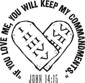love God keep commandment