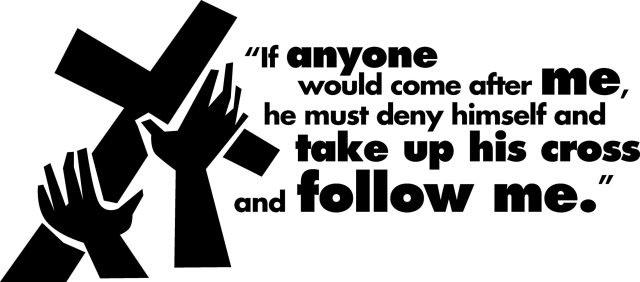 take up cross follow Jesus