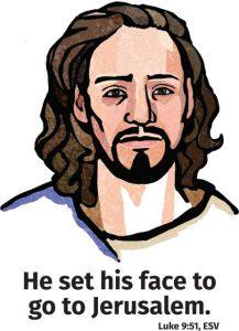Jesus to Jerusalem