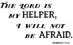 Lord is my Helper